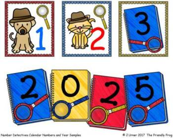 Number Detectives Calendar Essentials