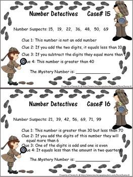 Math: Number Detectives (Basic Math) **TopSeller