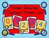 Number Detectives Classroom Number Line
