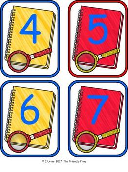 Number Detectives Classroom Number Line