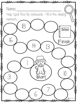 Exploring Numbers 1-20