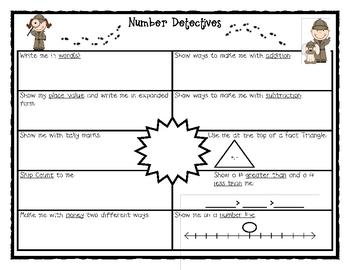 Number Detectives K-2