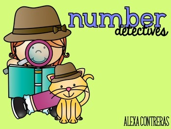 Number Detectives {Practice Pages for Numbers 1-20}
