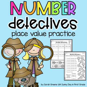 Number Detectives {place value practice!}