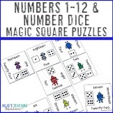 Dice Games for Math | Numbers 1-12 | Dice Activities | Dic