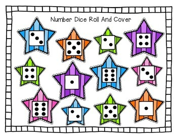 Number Dice Roll And Cover