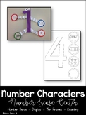 Number Characters - Math Center