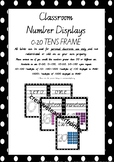 Number Display Cards 0-20