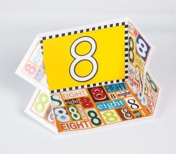 Number Display Case: 8
