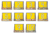 Number Display Case Packet