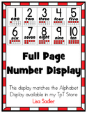 Number Display (Matches Alphabet Display)