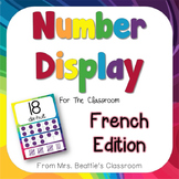 Number Posters - French