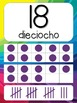 Number Posters - Spanish