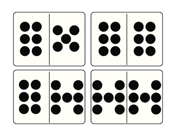 Number Domino Cards (1-20)