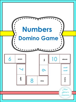 Numbers  Domino Game