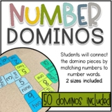 Number Dominos Math Game