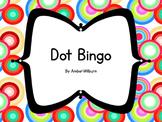 Number Dot Bingo
