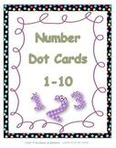 Number Dot Cards 0-10