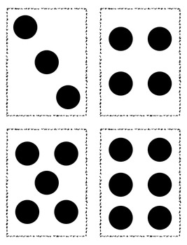 Number Dot Cards {FREEBIE}