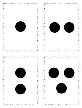 Number Dot Cards {FREEBIE}