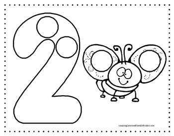 Number Dot Sheets