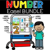 Number Easel Bundle Posters Number Sense Counting Back to School