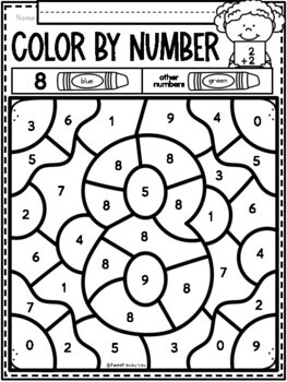 FREEBIE: All About the Number Eight!
