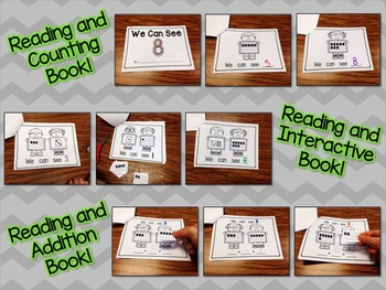 Number Eight Interactive Mini Readers- FREEBIE!
