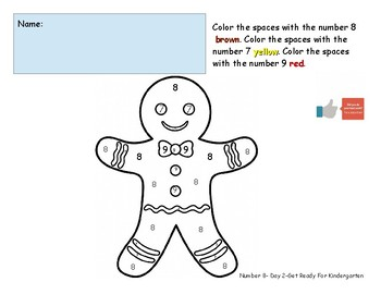 Number Eight Worksheet Pack