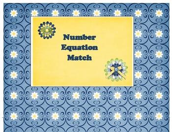 Number Equation Match