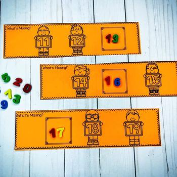 Number Eraser Activities