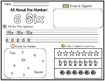 Number Exploration 1-10 (English)