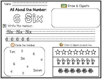 Number Exploration 1-10 (English)