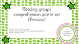 Reading comprehension posters text-to-text connections