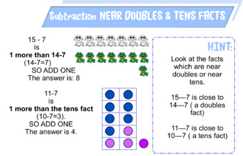 Number Fact Strategies Poster Collection