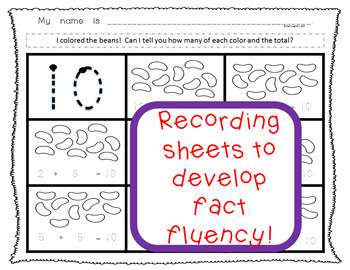 Number Facts Fluency! Spill the Beans