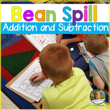 Number Facts Fluency Math Game Spill the Beans
