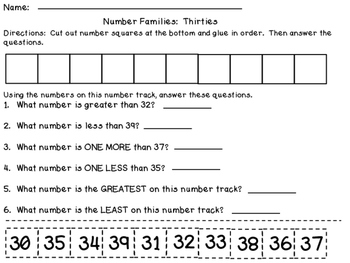 Number Families:  Working with Numbers Teens-120