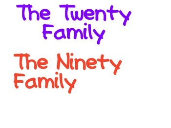 Number Family Tree Kit