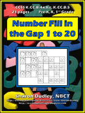 Number Fill In the Gap 1 to 20