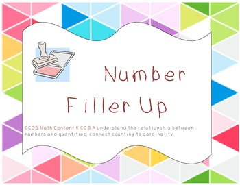 Number Fill Up