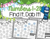 Number Find It, Dab It!