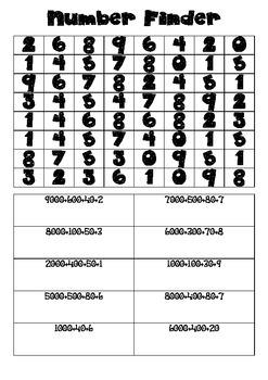 Number Finder