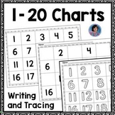 Kindergarten Tracing and Number Writing Practice 1-20: Ideal for Remote Learning