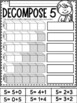 All About the NUMBER FIVE~ NO PREP Number Sense Kindergarten Math Printables