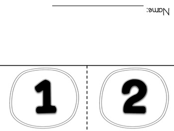 Number Flap Books 1-10