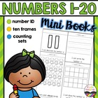 Kindergarten Math:  Numbers 1-20 Mini-Books