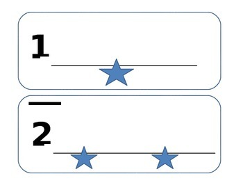 Number Flash Card ~ 1-10