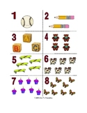 Number Flash Cards: 1-10 (printable)