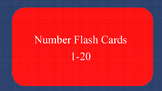 Number Flash Cards 1-20